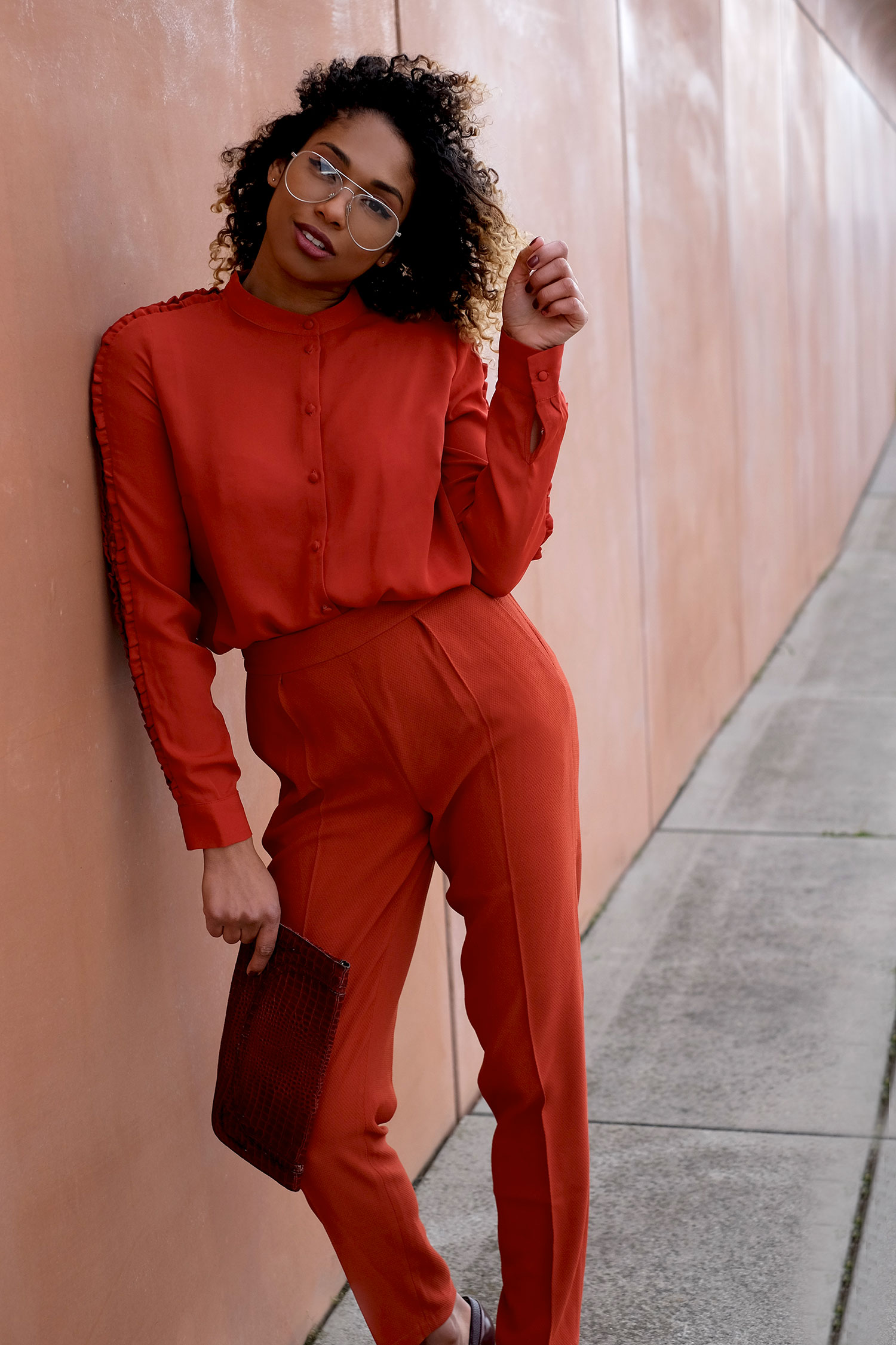 curls-all-over-lady-in-red